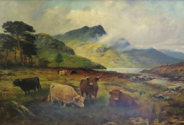 , 'Cattle in the Highlands,' 1902, Arctic Experience McNaught Gallery