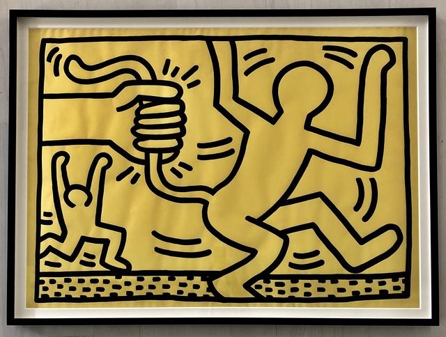 Keith Haring, 'Untitled', 1983, Adam Biesk Inc.