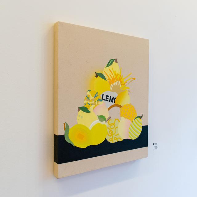 Stephen D'Onofrio, 'Small Lemon Pile', 2021, Painting, Acrylic on canvas, Corridor Contemporary