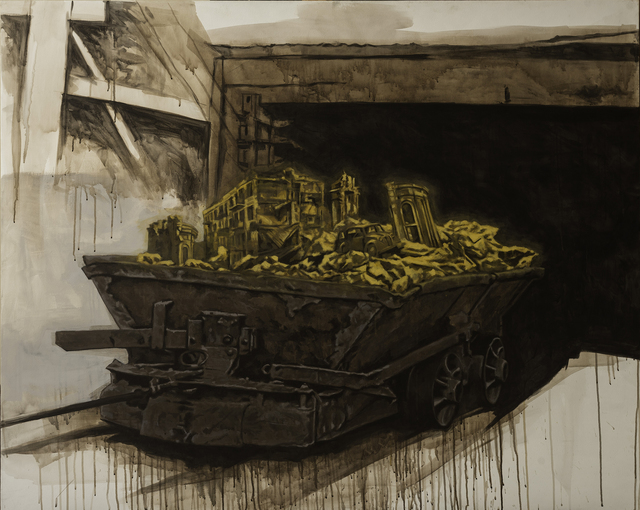 , 'Rack and Ruin and Profit,' 2018, NUNU FINE ART