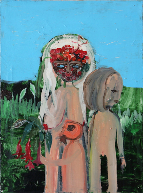 , 'Blonde Girls,' 2014, Robert Kananaj Gallery