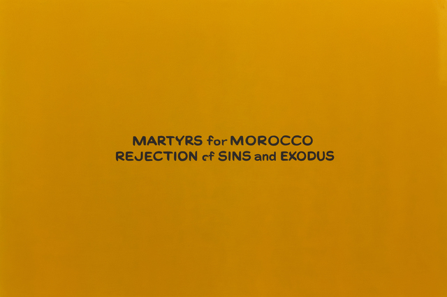 , 'Martyrs for Morocco Rejection of Sins and Exodus,' 2007, Roberts & Tilton