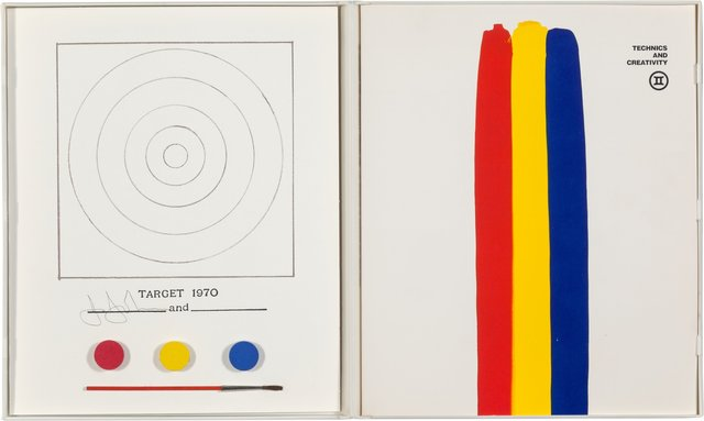 Jasper Johns, 'Target, from Technics and Creativity', 1970-1971, Heritage Auctions