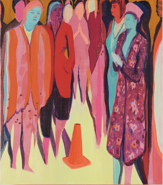 Jules de Balincourt, 'Cone Control', 2018, Galleri Bo Bjerggaard