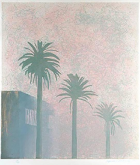 David Hockney, 'Mist', 1978-1980, IFAC Arts