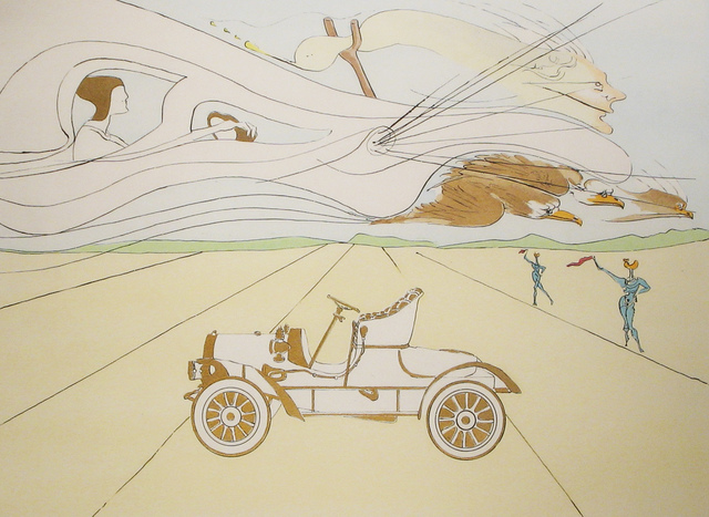 Salvador Dalí, 'Automobile', 1975, DTR Modern Galleries
