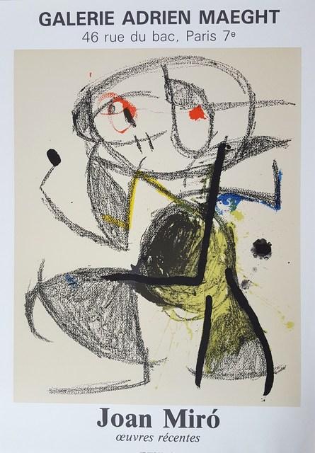 Joan Miró, 'Expo 83', 1983, Graves International Art