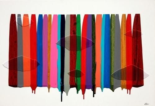 , 'Fils I Colors CCXLIII,' 2015, Matthew Rachman Gallery