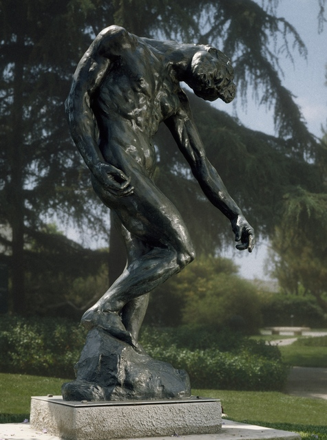 Auguste Rodin The Shade First Modeled Ca 1880 Enlarged Ca