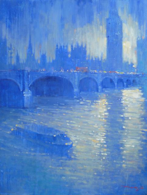, 'Westminster Blue (Majorelle),' 2014-2017, London Contemporary Art / Store Street Gallery