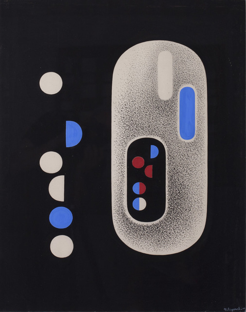 , 'Particle Red,' 1948, Hostler Burrows