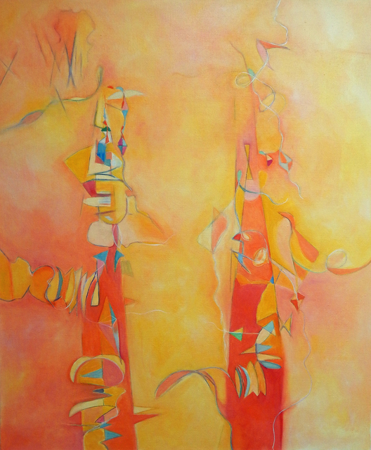 , 'Blush Timber,' 2015, Walter Wickiser Gallery