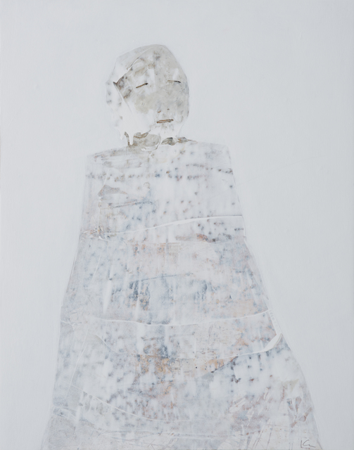 Marianne Kolb, 'The White Paintings No. 11', 2018, Painting, Mixed media on panel, Seager Gray Gallery