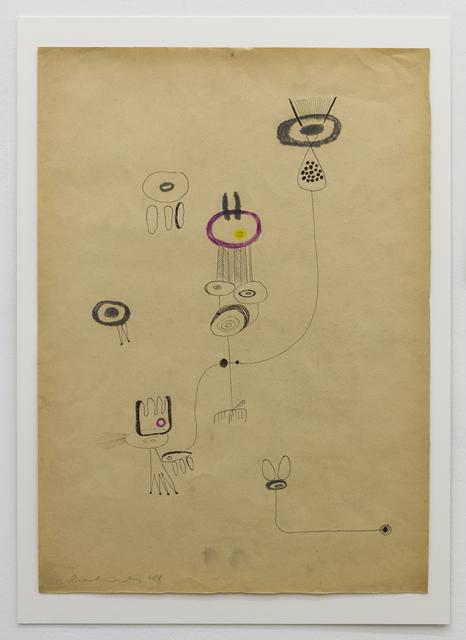 , 'WAS SOLLEN DIE,' 1948, Galerie Elisabeth & Klaus Thoman