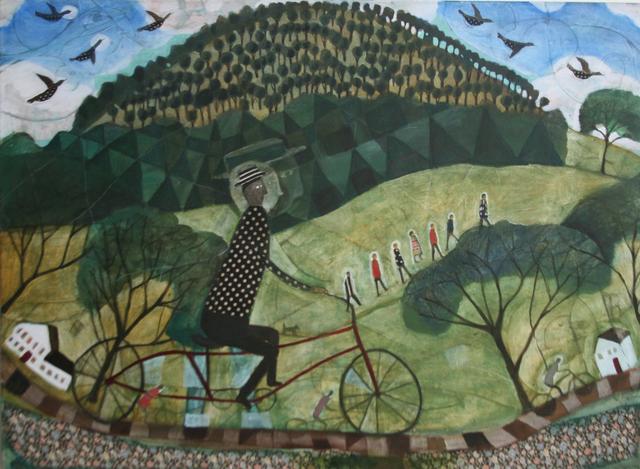 , 'Round Mountain,' , Rice Polak Gallery