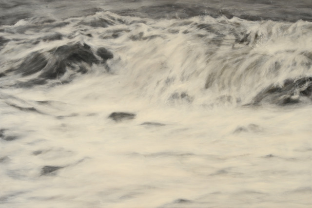 Clifford Smith, 'Gray Surf II', 2013, Painting, Oil on linen, Gerald Peters Gallery