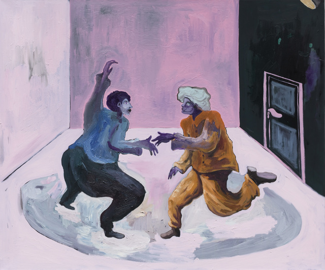 Pierre Knop, 'Dance Duel', 2020, Painting, Oil and mixed media on canvas, CHOI&LAGER