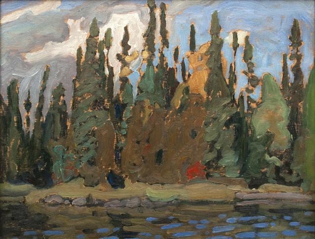 , 'Algoma Sketch CVIII,' 1920, Canadian Fine Arts