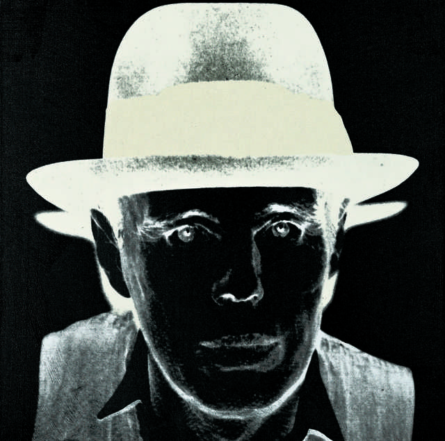 Andy Warhol, 'Joseph Beuys ', 1980, Painting, Silkscreen ink and diamond dust on acrylic on canvas, Fondation Beyeler