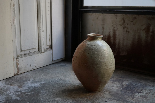 Shiro Tsujimura, 'Large  jar natural ash glaze', Kami ya Co., Ltd.