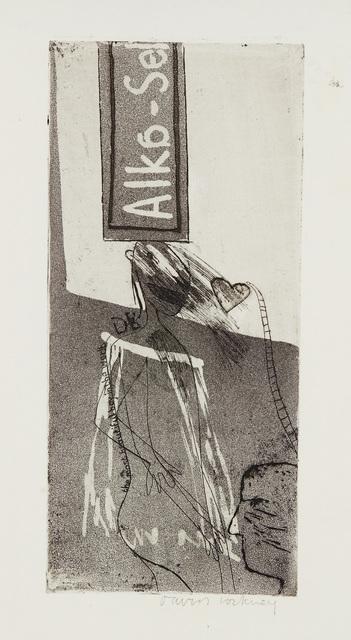 David Hockney, 'Alka Seltzer', 1961, Sims Reed Gallery