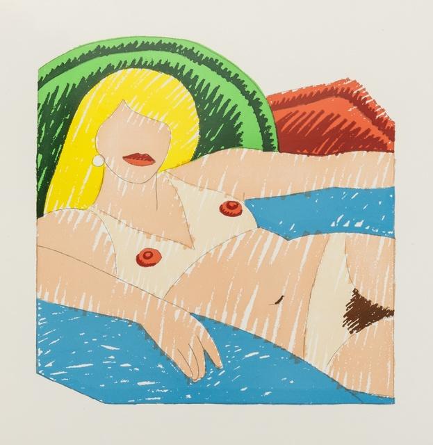 Tom Wesselmann, 'Shiny Nude', 1977, Forum Auctions