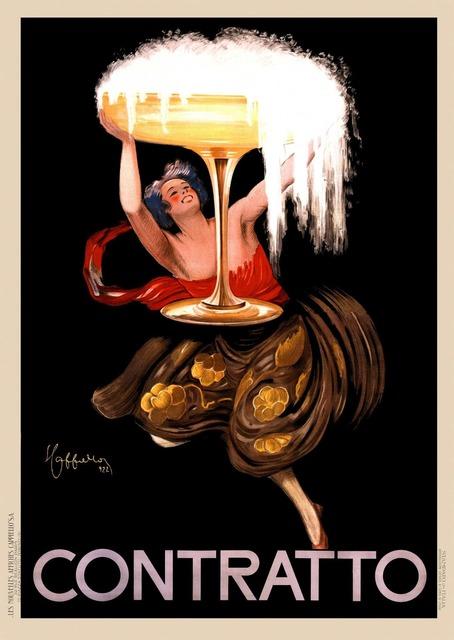 , 'CONTRATTO,' 1922, Galleria Alfieri
