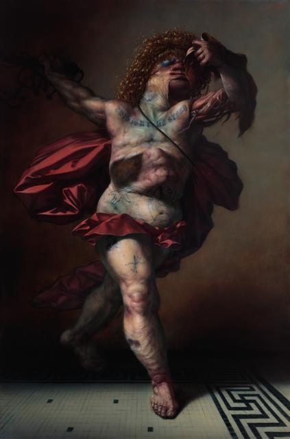 , 'Mortuum Ambulatnem Romanus (after Goltzius),' 2016, Gallery Poulsen