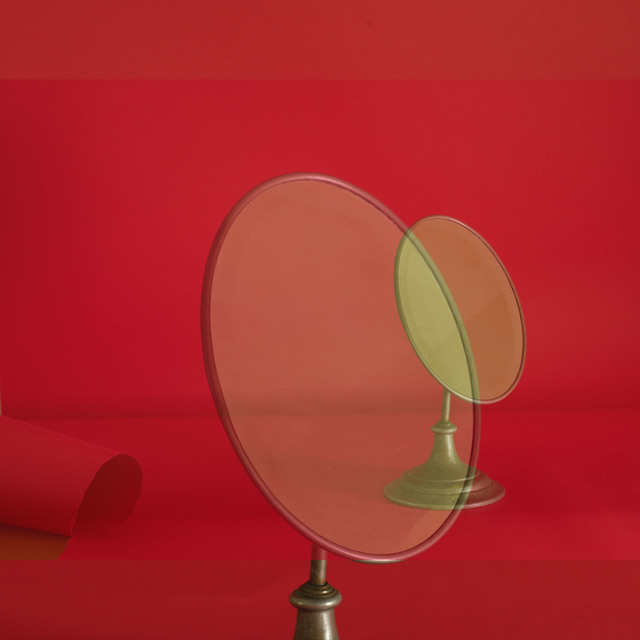 , 'Red Mirror #3,' 2018, James Barron Art