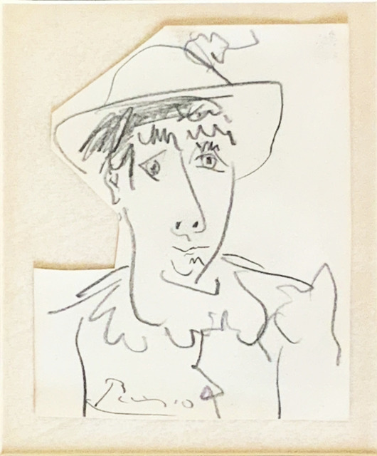 Pablo Picasso, 'Figure with a hat ', ca. 1966, Fairhead Fine Art Limited