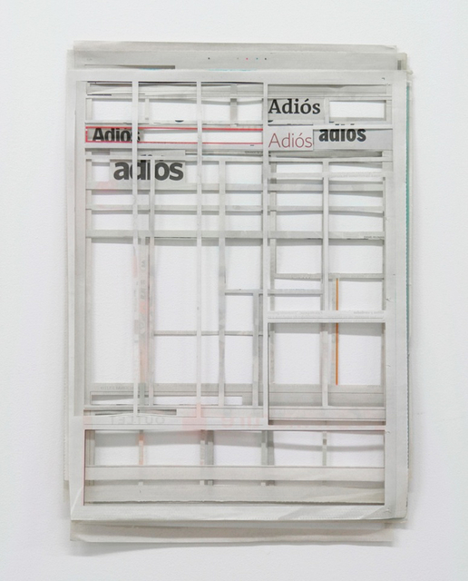 , 'Adiós,' 2015, Galerie Peter Kilchmann