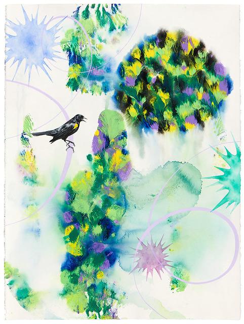 Kara Maria, 'Yellow-Shouldered Blackbird', 2019, Catharine Clark Gallery