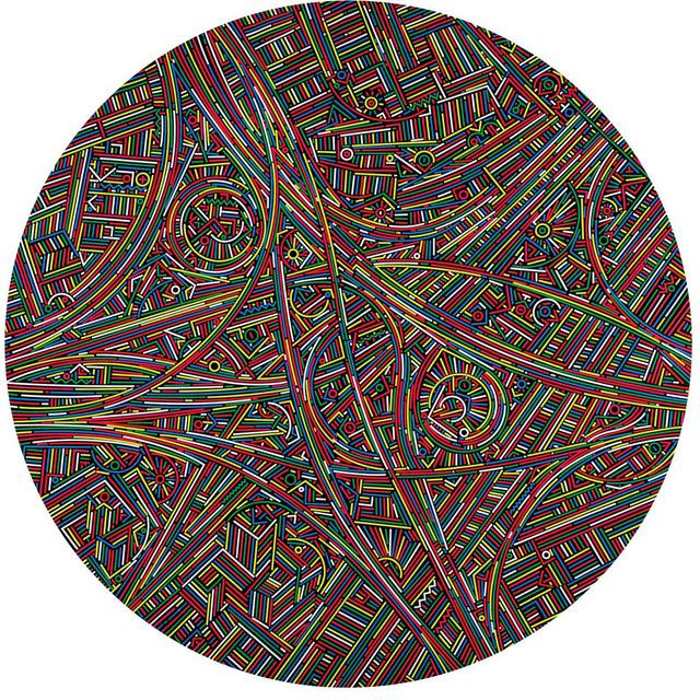 Lu Xinjian 陆新建, 'City DNA / Xinzhuang (Shanghai)', 2014, ART LABOR Gallery