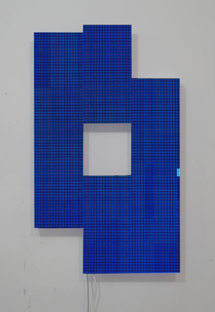 , 'Pixel Removal of Screen in Use v.1,' 2018, Postmasters Gallery