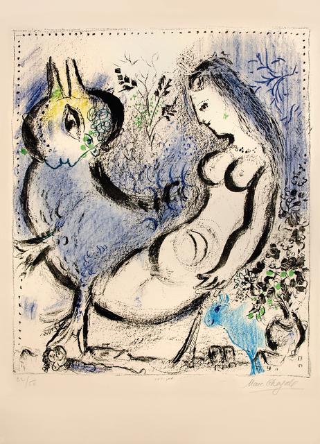 , 'La Nymphe bleue,' 1962, Galerie Raphael