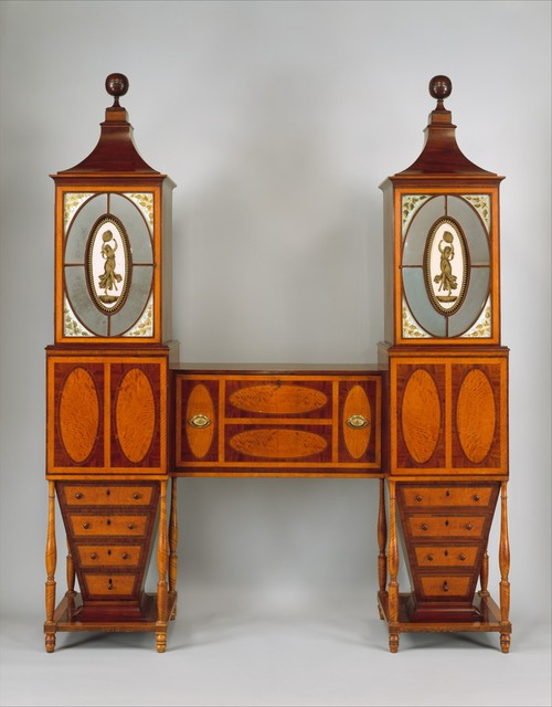 Unknown American, 'Desk and Bookcase', ca. 1811, The Metropolitan Museum of Art