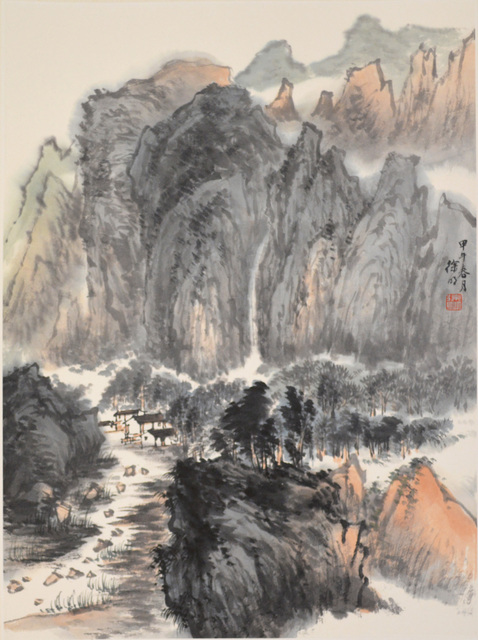 Xu Ming, 'Waterfall and Mountain', 2014, Ronin Gallery