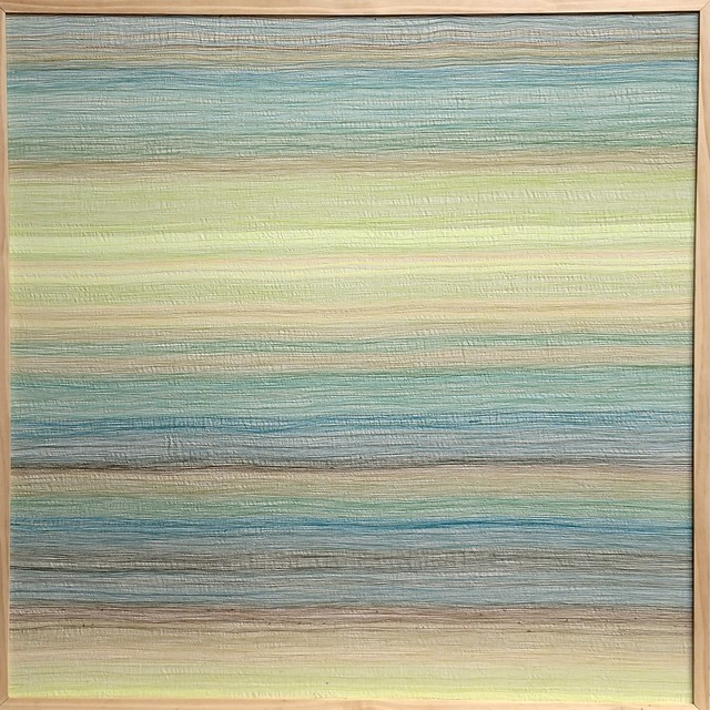 Inkyo Back, 'H.A.Z.E. (blue - yellow)', 2014, Michael Warren Contemporary