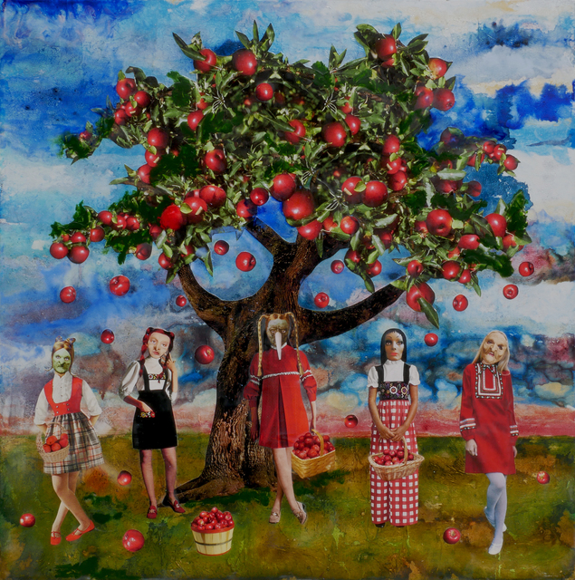 Marnie Weber, 'Gathering Apples on a Sunny Day', 2009, Simon Lee Gallery