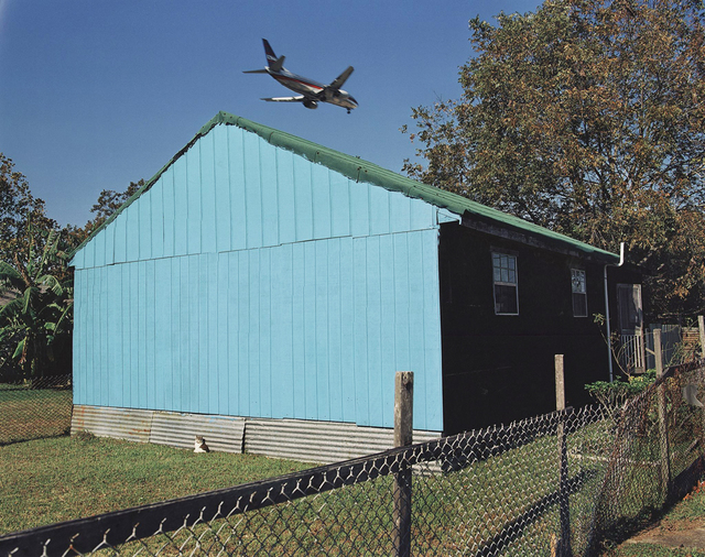 , 'Jet Over Blue & Black House,' 1994, PDNB Gallery