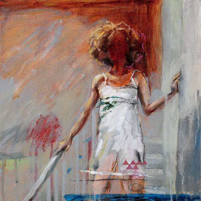 , 'Morning Girl Coming Downstairs,' 2018, Gildea Gallery