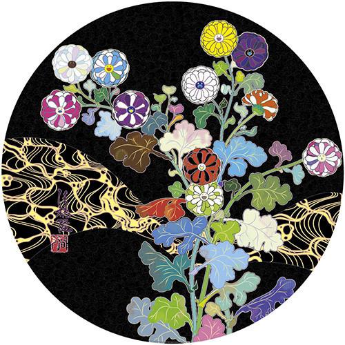 Takashi Murakami, 'Kansei: Wildflowers Glowing in The Night', 2014, Dope! Gallery