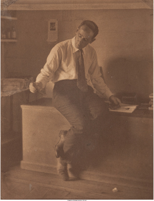 Margaret Watkins, 'Portrait of Clarence White', 1921, Heritage Auctions