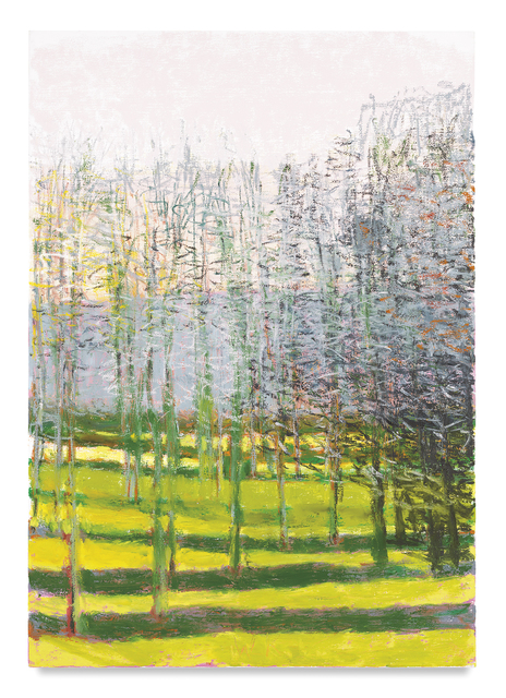 , 'Poplars in Winter,' 2016, Miles McEnery Gallery