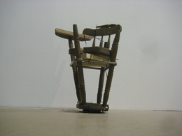 , 'Inverted Bar Stool,' 2009, Nina Johnson