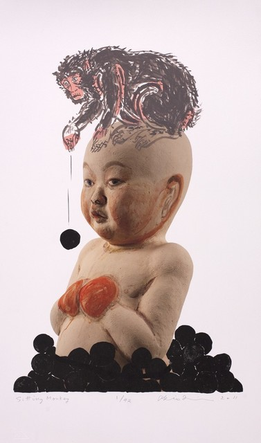 Akio Takamori, 'Monkey Business Series', 2011, Cerbera Gallery