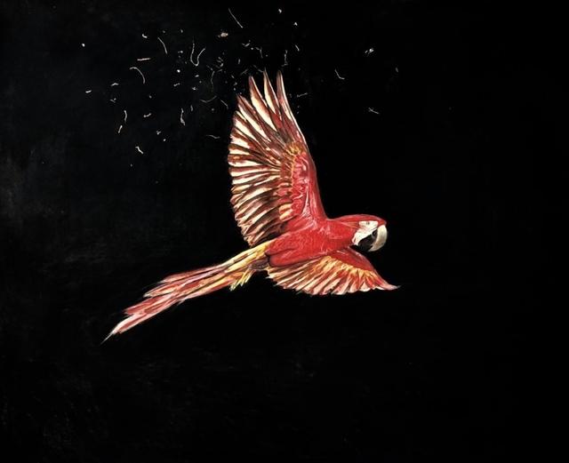 Kilian Glasner, 'Untitle', 2020, Painting, Pastel on paper, Galeria Lume