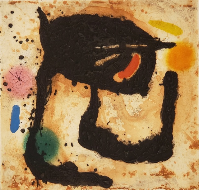 Joan Miró, 'Le Dandy ', 1969, Off The Wall Gallery
