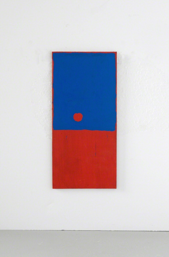 Clay Mahn | Sonne AA | 2018 | oil and acrylic on canvas over panel | 70 x 34 inches