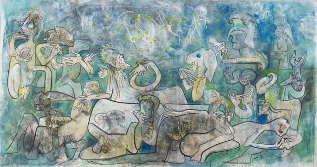 , 'A Cena con Agatone,' 1985, New River Fine Art
